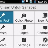 """Ngeblog jadi lebih """"update"""" dengan aplikasi blackberry"""